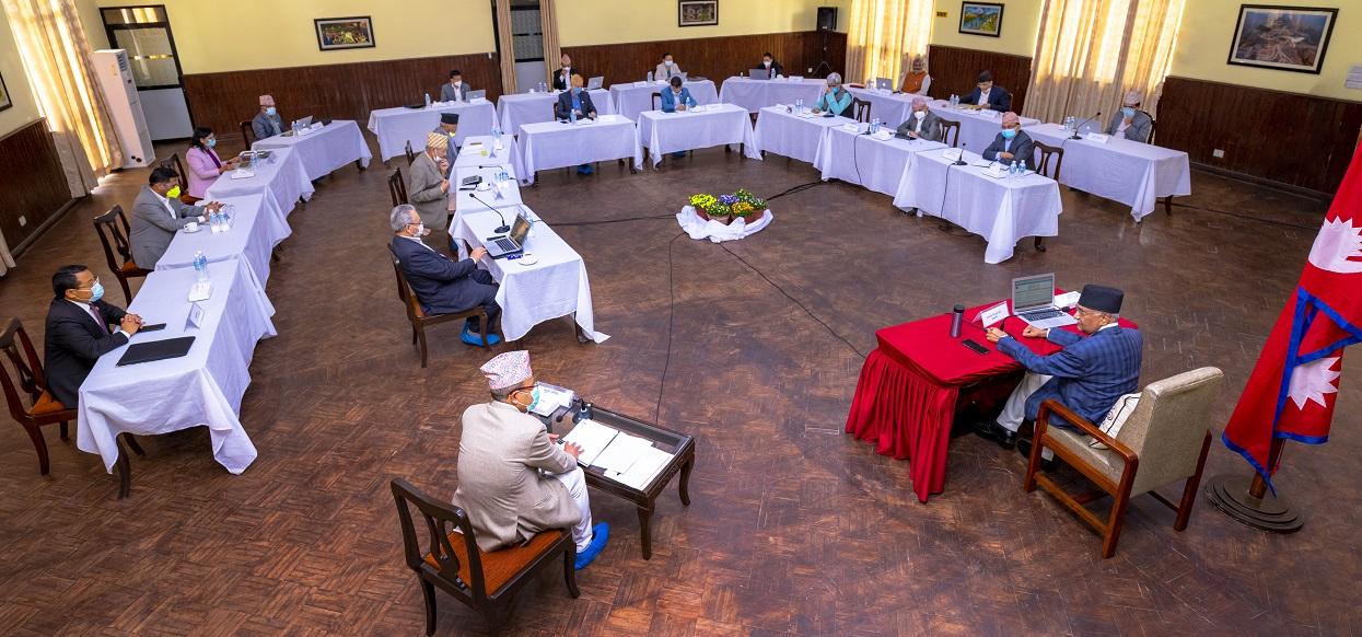 मन्त्रिपरिषद बैठक बस्दै, लकडाउनको नयाँ मोडालिटी घोषणा गर्ने तयारी