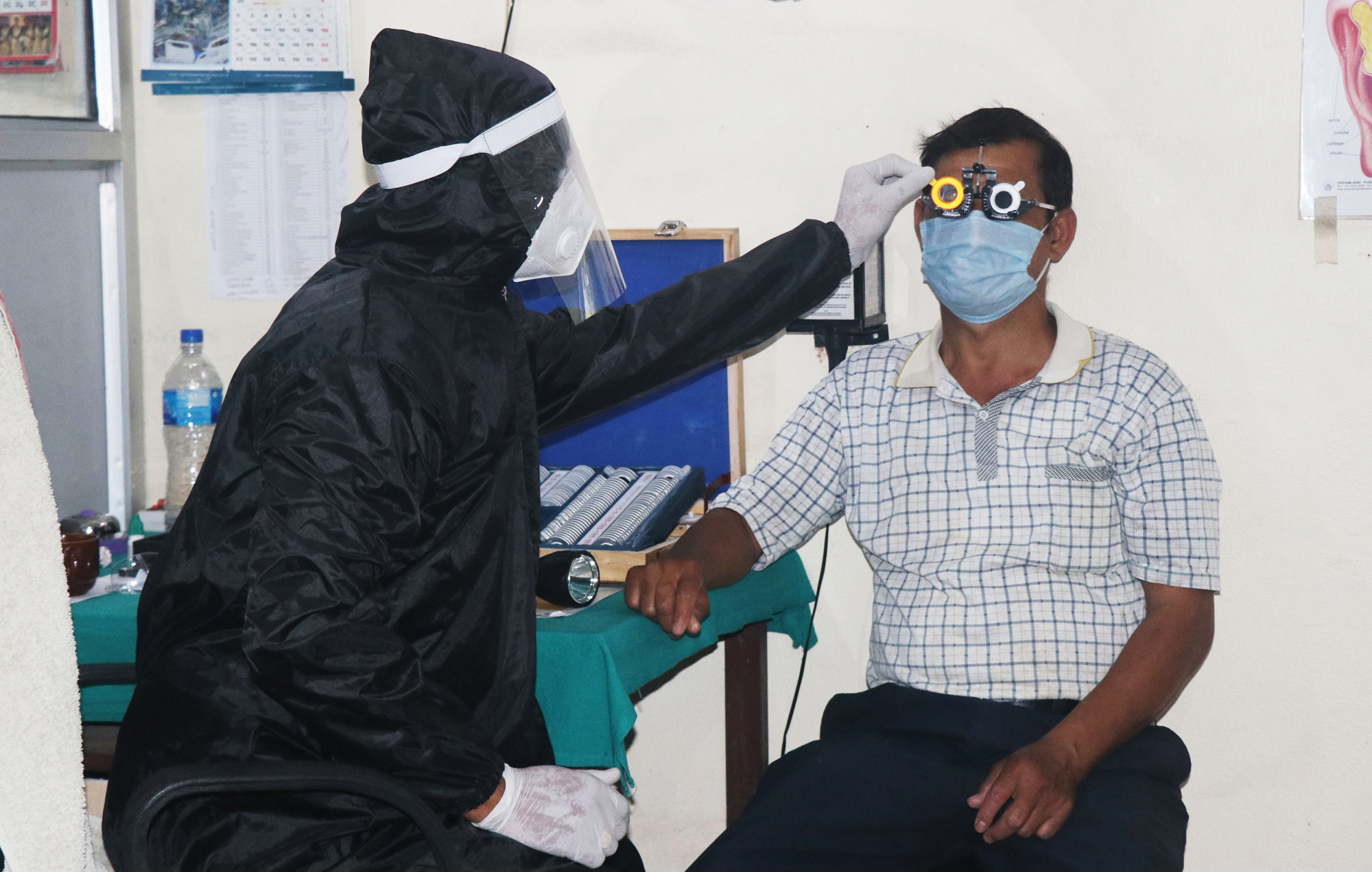 नोबेल अस्पतालले ओपीडी खुल्ला गरेर सुचारु गर्यो सबै उपचार सेवा