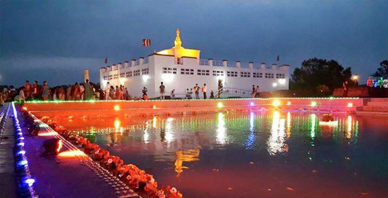 आज बुद्ध जयन्ती : लुम्बिनीमा दीप प्रज्वलन र विश्व शान्ति प्रार्थना