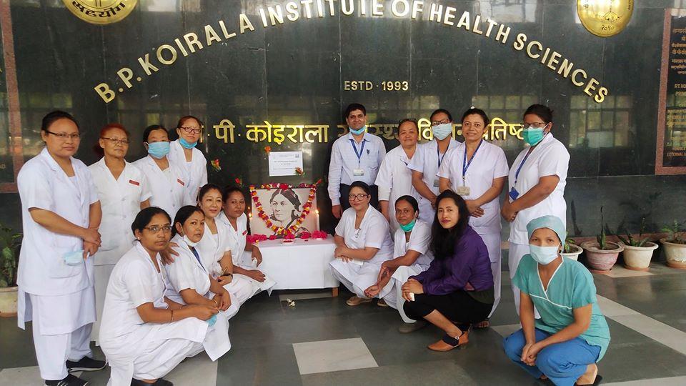 वीपी प्रतिष्ठानमा मनाईयो अन्तर्राष्ट्रिय नर्सिङ दिवस