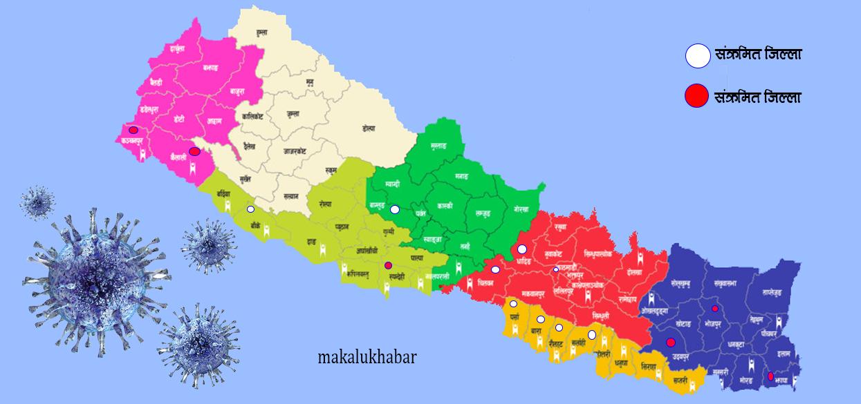 नेपालगन्जमा कम्युनिटी ट्रान्समिसनको खतरा, संक्रमित क्षेत्र शिल