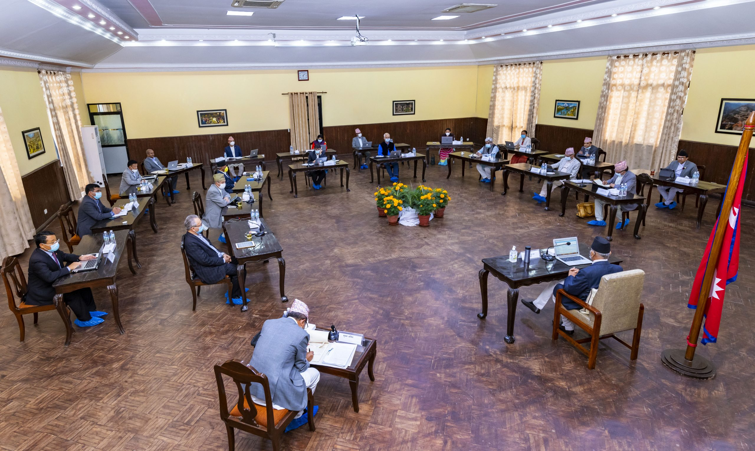 बालुवाटारमा मन्त्रिपरिषद् बैठक सुरु, समसामयिक विषयमा छलफल हुने