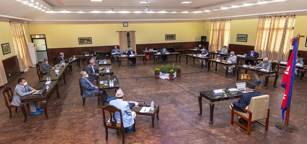 मन्त्रिपरिषद् बैठक : लकडाउन खुकुलो बनाउने विषयमा कार्य योजना बनाउन उच्चस्तरीय समितिलाई निर्देशन