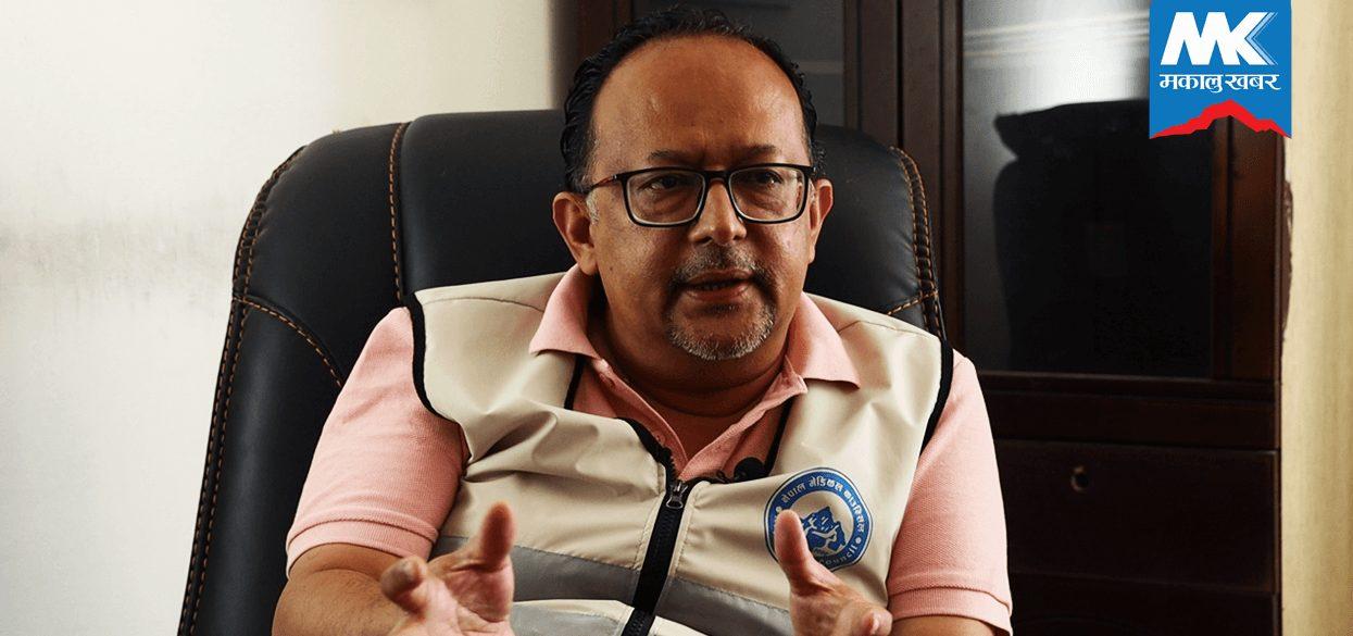'सरकारले विज्ञहरुको कुरा नसुनेर ठूलो गल्ती गर्यो' उपाध्यक्ष, नेपाल मेडिकल काउन्सिल (भिडियाे सहित)