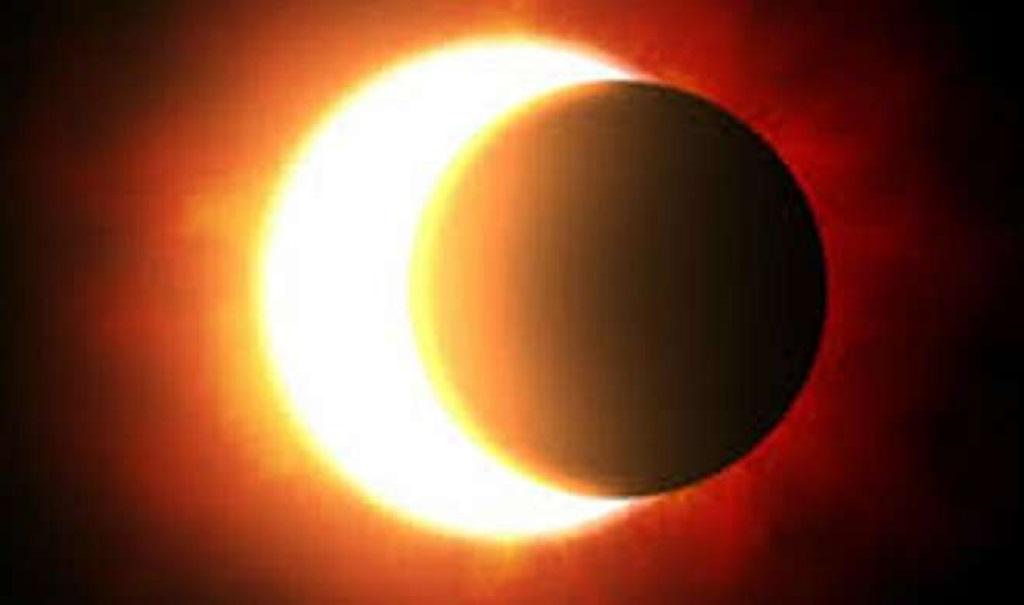 असार ७ गते आइतबार खण्डग्रास सूर्यग्रहण लाग्ने, कुन प्रदेशबाट कतिखेर देखिन्छ सूर्यग्रहण ?