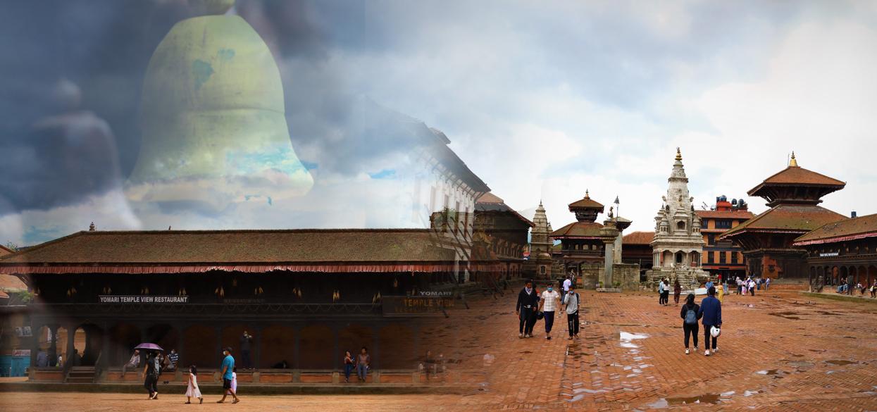 कोभिड–१९ ले सुतेको भक्तपुर दरबार स्क्वायर उठ्न खोज्दै (फोटो फिचर)