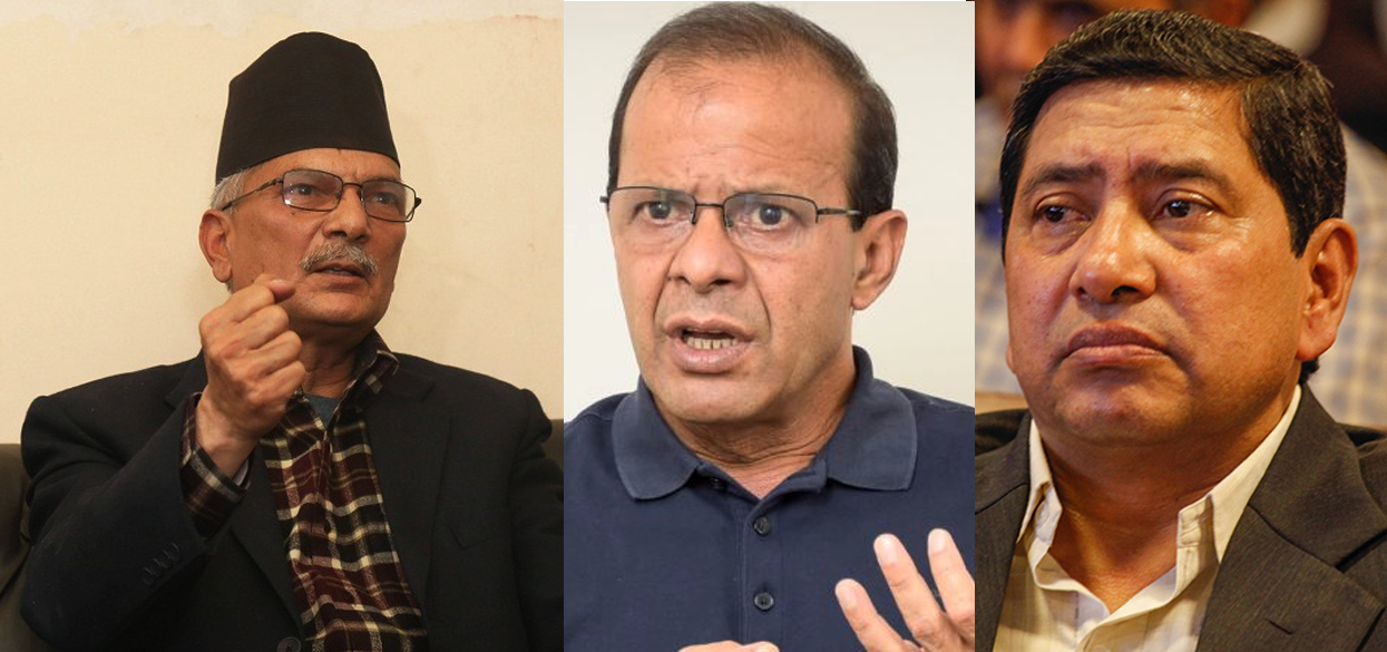 नेताहरुको जिकिर : 'भारतीय गुप्तचर संस्थाका प्रमुखसँग भेट भएको छैन'