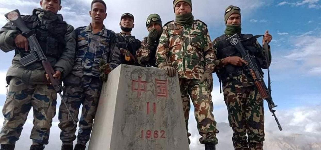 नेपाल-चीनबीचको सीमा विवाद : ५८ वर्षपछि टाकुले लेकमा भेटियो ११ नम्बर पिलर