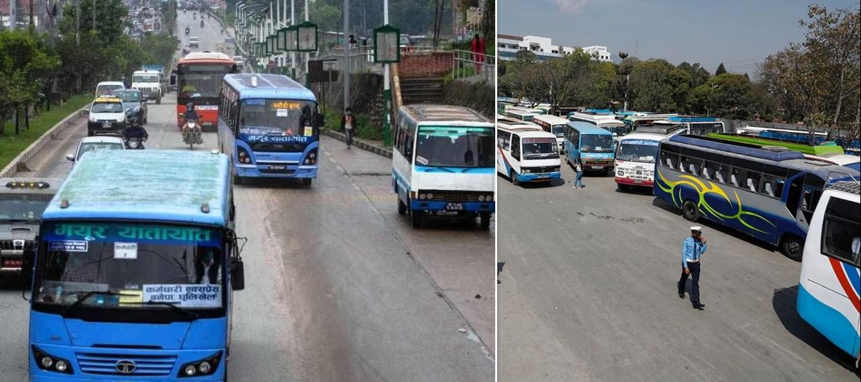 लामो दूरीको सार्वजनिक यातायात खुल्यो, कसरी गर्ने सुरक्षित यात्रा ?