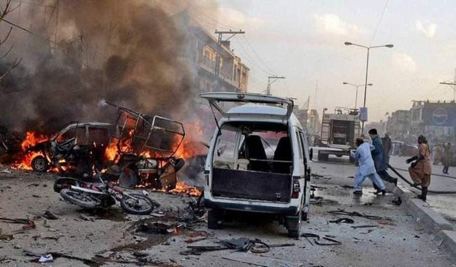 पाकिस्तानमा शक्तिशाली बम विस्फोट: सातको मृत्यु, ११२ घाइते