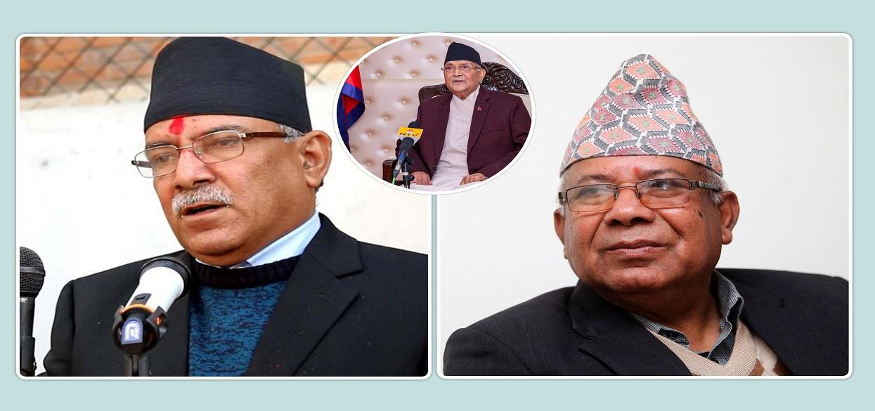 सचिवालय बैठक : कडा रुपमा प्रस्तुत हुँदै दाहाल–नेपाल कित्ता, 'जे पर्छ त्यै टर्छ'को अवस्थामा ओली