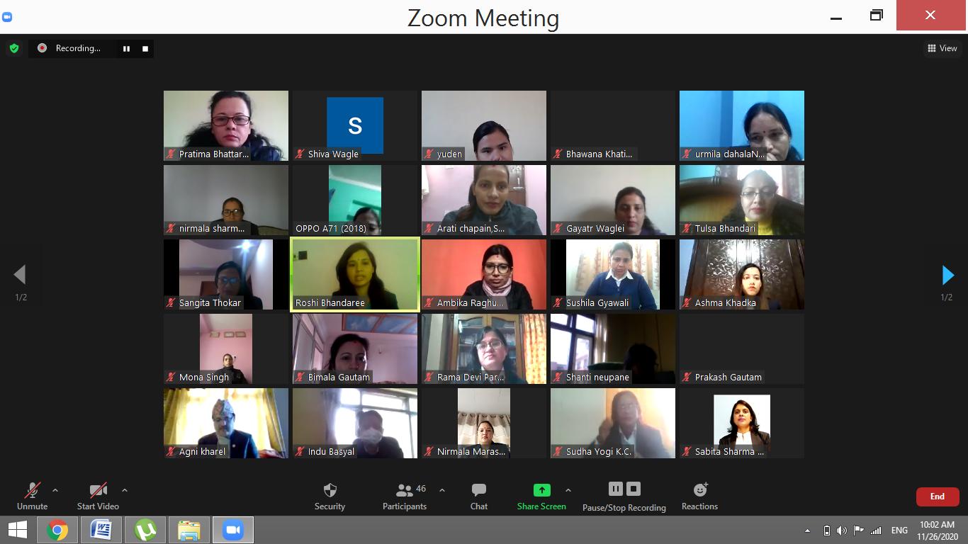 नेपालमा हाल ७२ जना महिला सरकारी वकिल कार्यरत, दुई जना कार्यालय प्रमुख