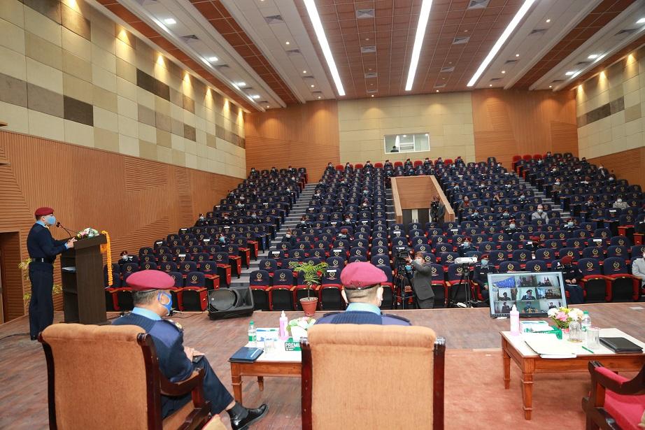नेपाल प्रहरीको अर्धवार्षिक कार्य प्रगति समीक्षा कार्यक्रम सम्पन्न