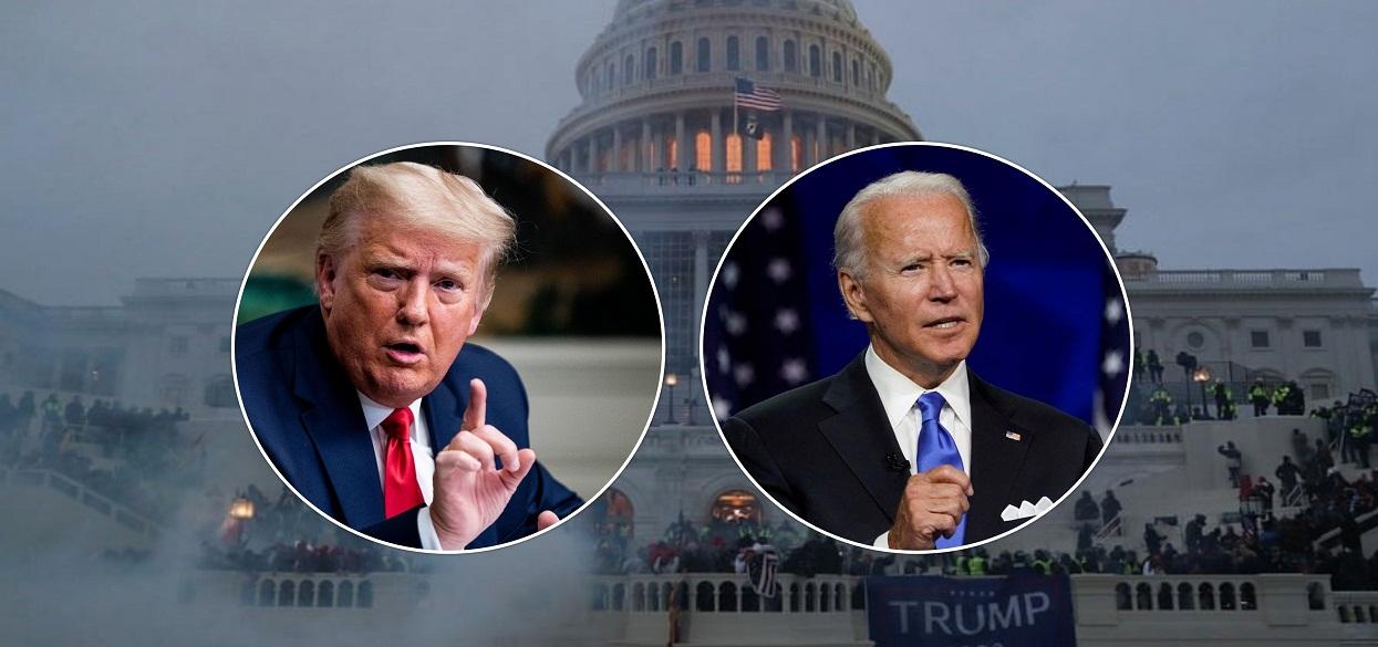 अमेरिकी संसद् भवनमा ट्रम्प समर्थकको आक्रमण : वासिङ्गटन डीसीमा कर्फ्यू, के भन्छन् बाइडेन ?
