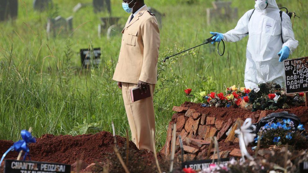कोरोनाका कारण जिम्बाब्बेका विदेश मन्त्रीको निधन