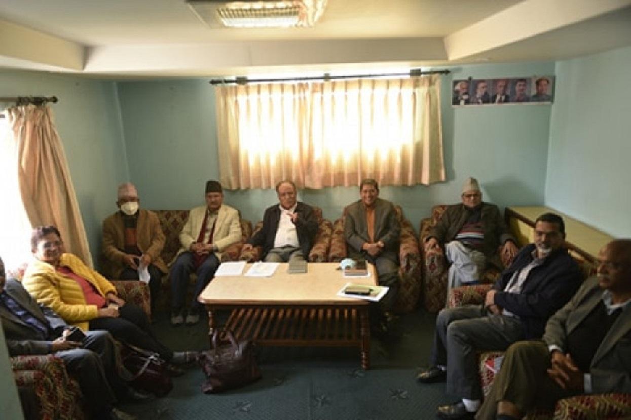 पेरिसडाँडामा माओवादी स्थायी समिति बैठक सुरु