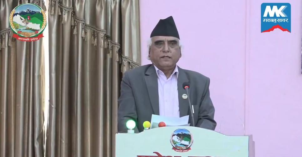 कृष्णचन्द्र नेपाली पोखरेल मुख्यमन्त्री नियुक्त