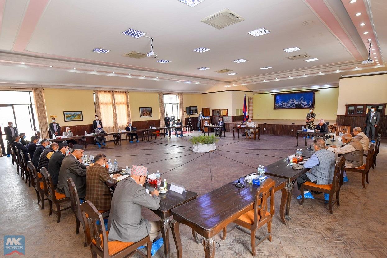 वैकल्पिक सरकार र राष्ट्रपतिविरुद्धको महाभियोग मूल एजेण्डा