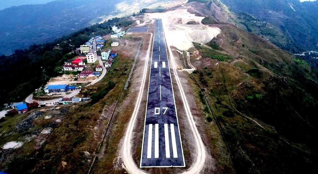 विमानस्थलको नाम परिवर्तन : तेह्रथुममा कामको चिन्ता' ताप्लेजुङमा नामकाे