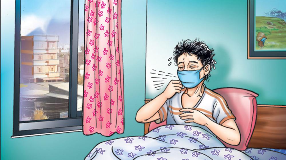 औषधि लिएर संक्रमितको घर-घरमा जनप्रतिनिधि