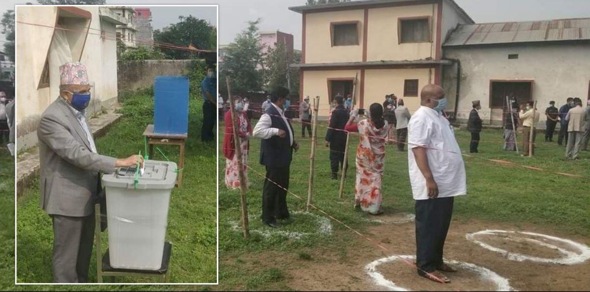 राष्ट्रियसभा उपनिर्वाचनः मतदान जारी, नतिजा भर्चुअल माध्यमबाट