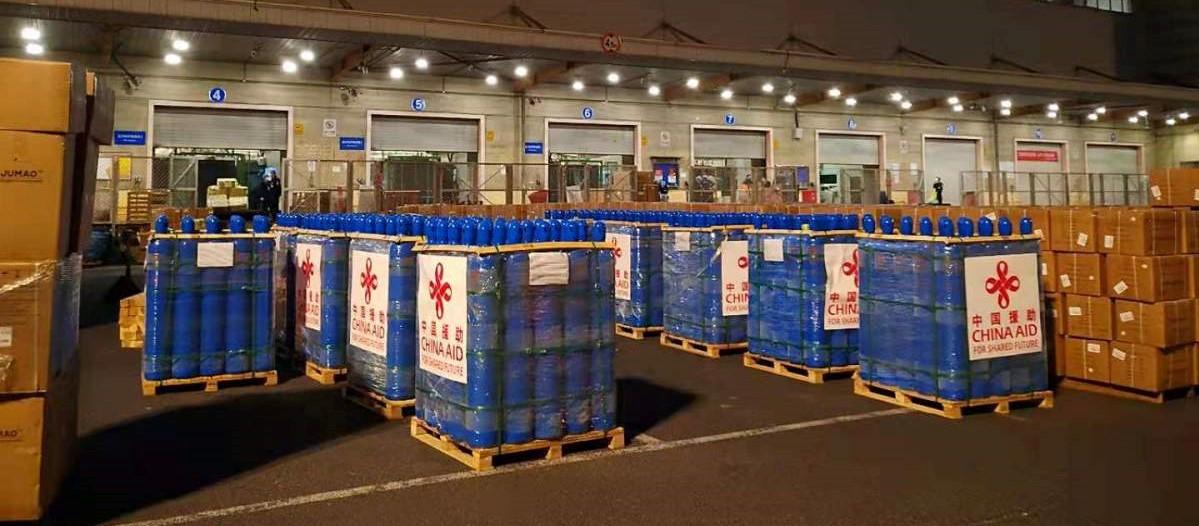 रसुवागढी नाकाबाट १० हजार थान अक्सिजन सिलिण्डर आयात