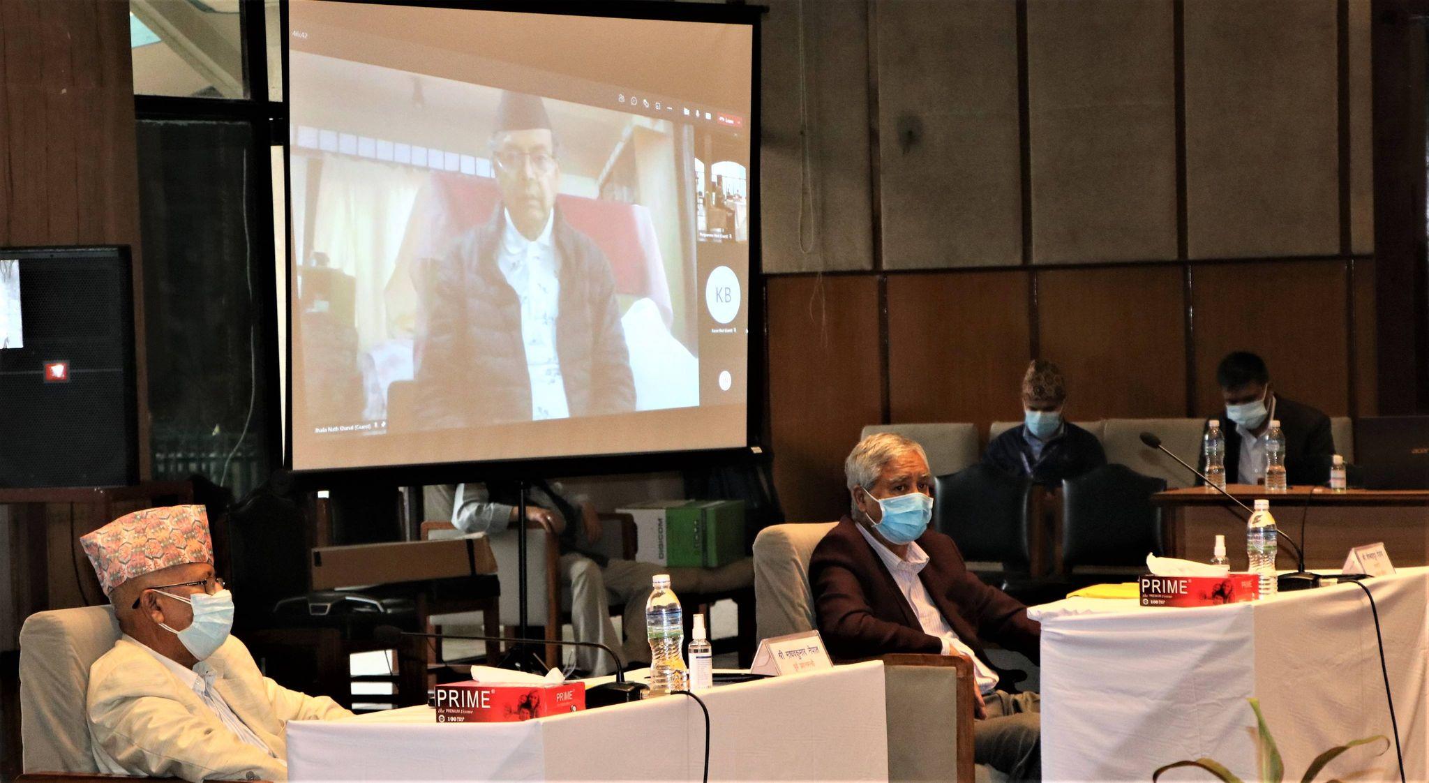 सभामुखले आह्वान गरेको बैठक शुरु, प्रधानमन्त्री अनुपस्थित (तस्बिरहरु)