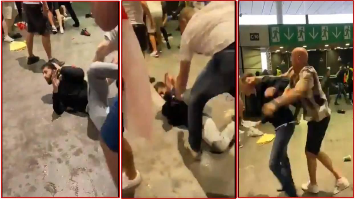 इङ्ल्यान्ड समर्थकको उपद्रव : खेलअघि रंगशालमा हुलहुज्जत, हारेपछि इटाली समर्थकलाई हातपात