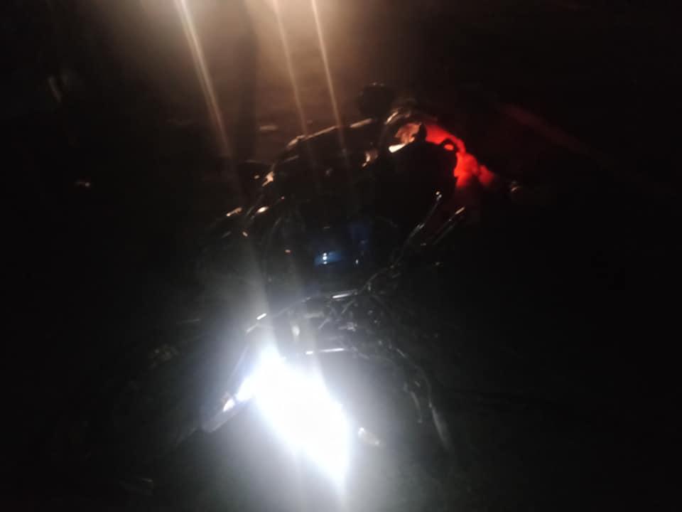 ट्रकको ठक्करबाट मोटरसाइकलमा सवार दम्पतीको मृत्यु
