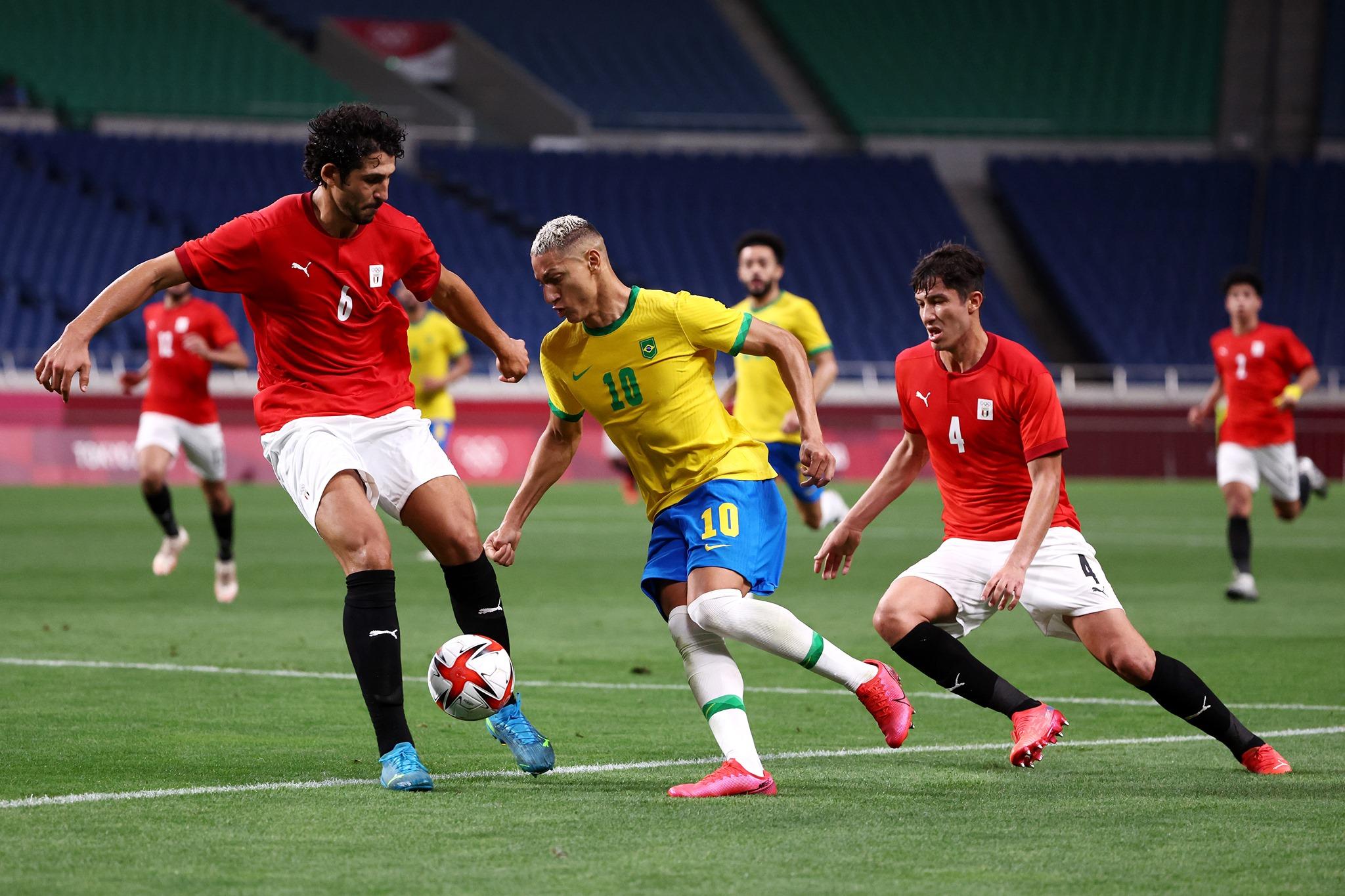 ओलम्पिक फुटबल : ब्राजिल सेमिफाइनलमा
