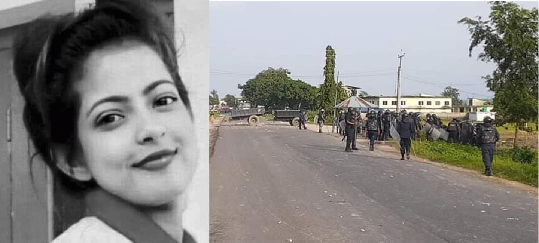 सुजिता मृत्यु प्रकरण: पूर्वी चितवनको राजमार्ग क्षेत्रमा कर्फ्यू