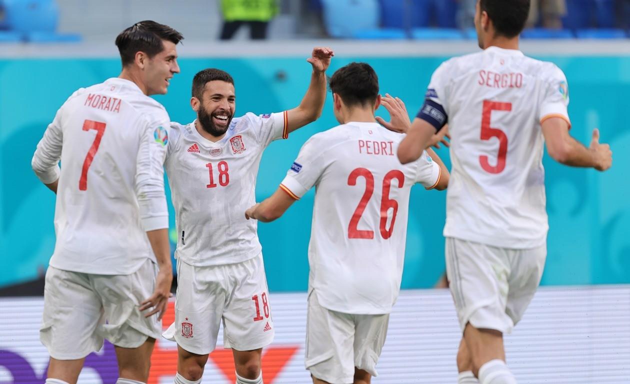 स्पेन युरो २०२० को सेमिफाइनलमा, इटाली र बेल्जियममध्ये एकसँग खेल्ने