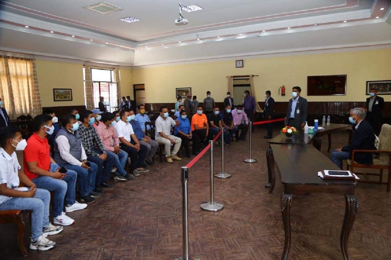 पाँच विद्यार्थी संगठनद्वारा सरकारको ध्यानाकर्षण