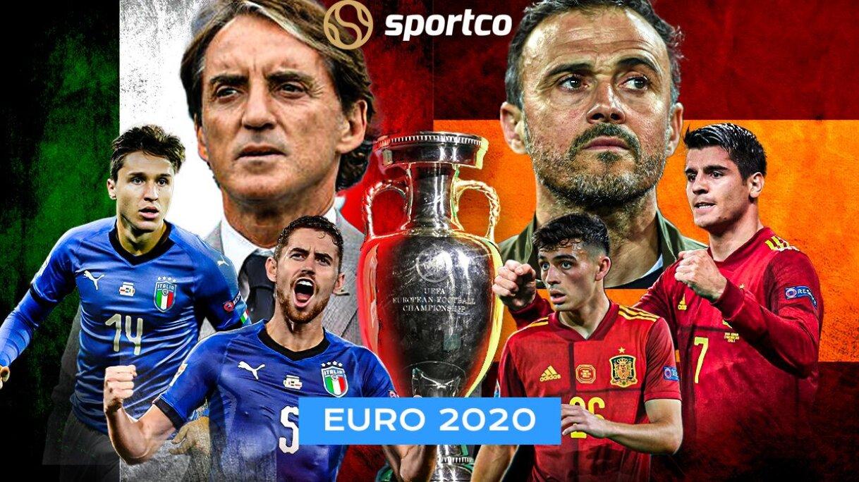 युरो २०२० : फाइनल प्रवेशका लागि इटाली र स्पेन खेल्दै