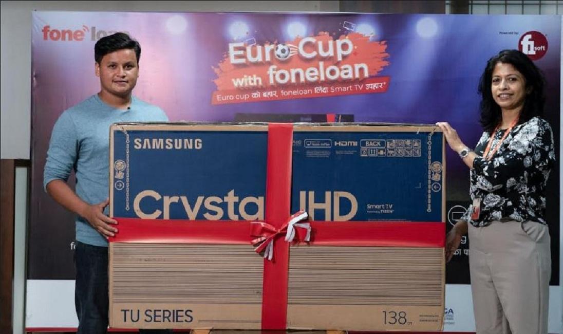 युरो कप विथ फोनलोनको विजेता लक्ष्मी बैंकका खति