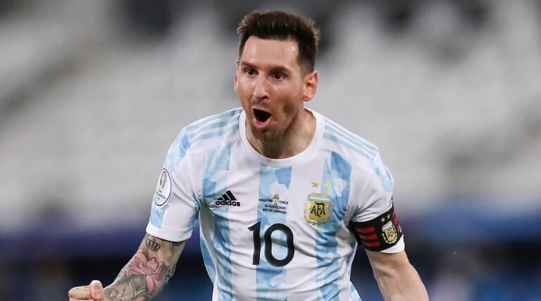 कोपा अमेरिका फाइनलः अर्जेन्टिनाको अग्रता