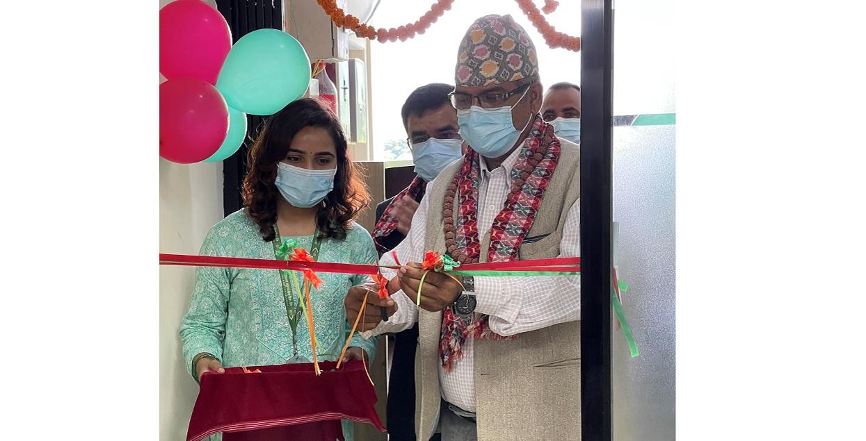 नेपाल बंगलादेश बैंककोे विस्तारित सेवा केन्द्र मोरङको बुधबारेमा