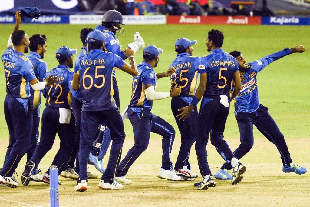 श्रीलंकालाई पहिलोपटक भारतविरुद्धको सिरिज