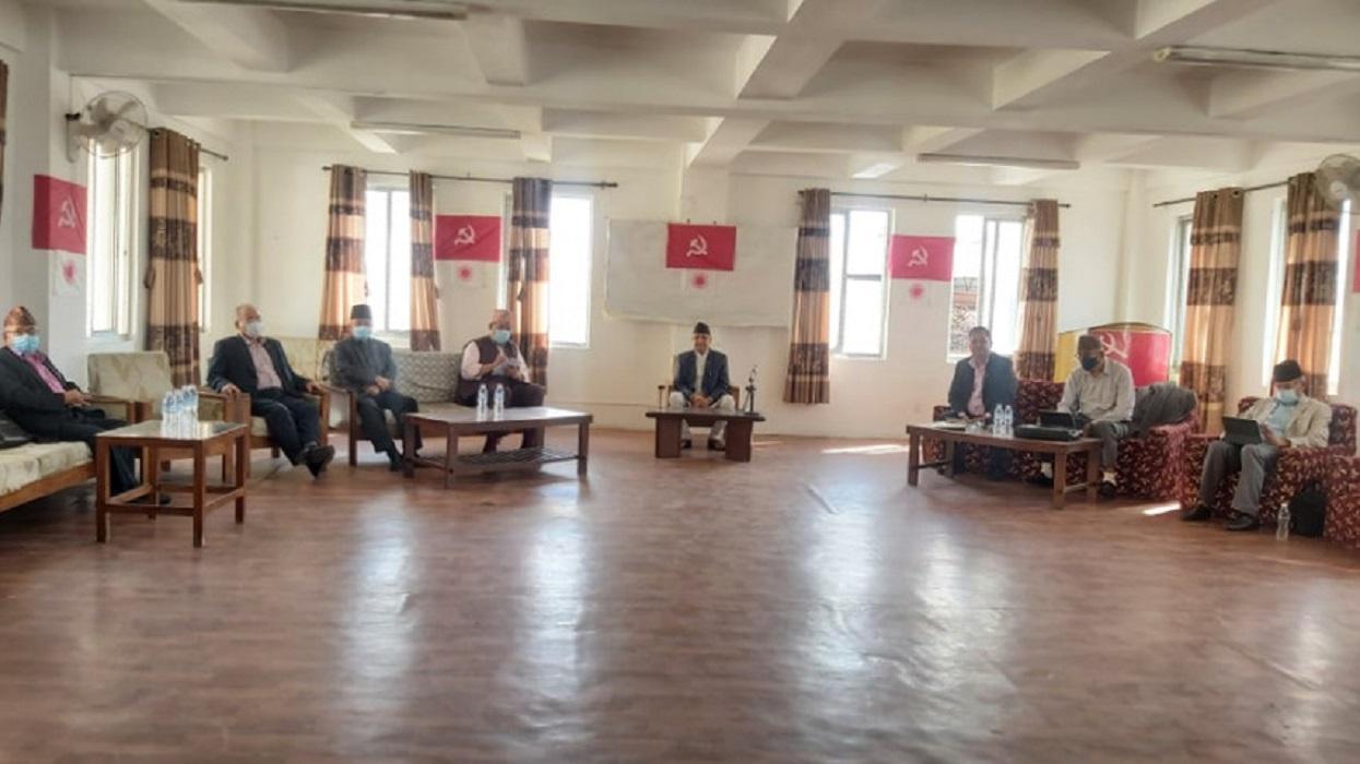 पार्टी एकताको कुरा चल्दै गर्दा एमालेद्वारा महाधिवेशन प्रस्ताव पारित