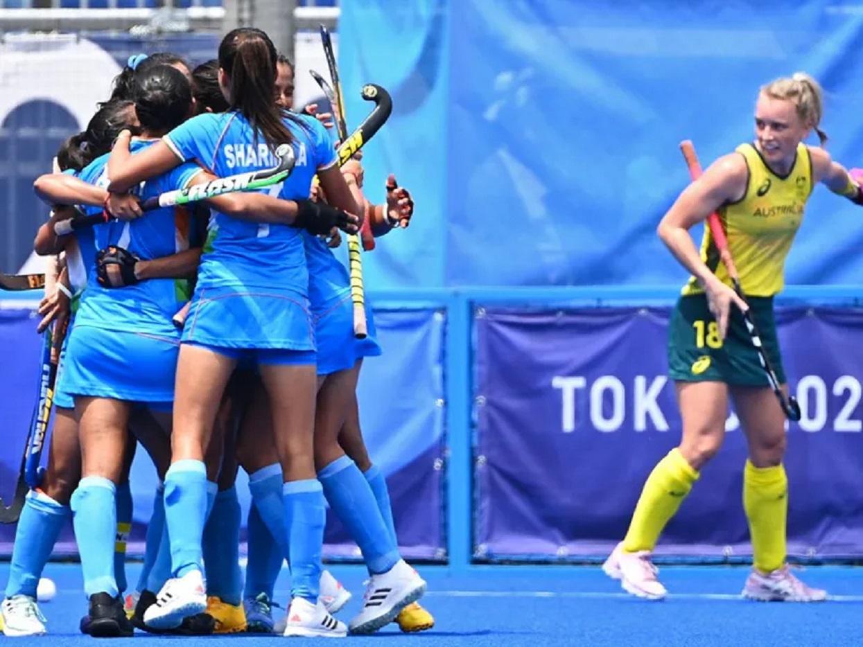 भारतीय महिला हक्की टीम पहिलोपटक ओलम्पिकको सेमीफाइनलमा
