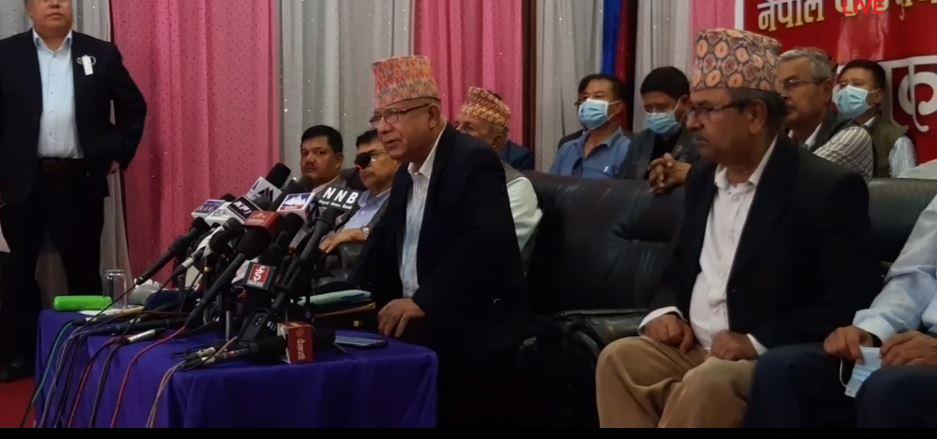 कम्युनिष्ट आन्दोलनलाई अघि बढाउन नयाँ पार्टी बनायौँ : नेपाल