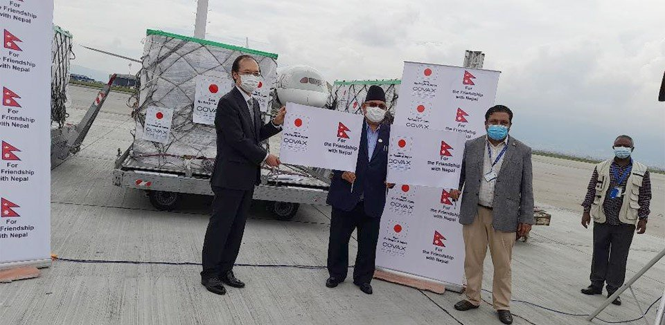 ५ लाख डोज अष्ट्राजेनिका नेपाल आइपुग्यो
