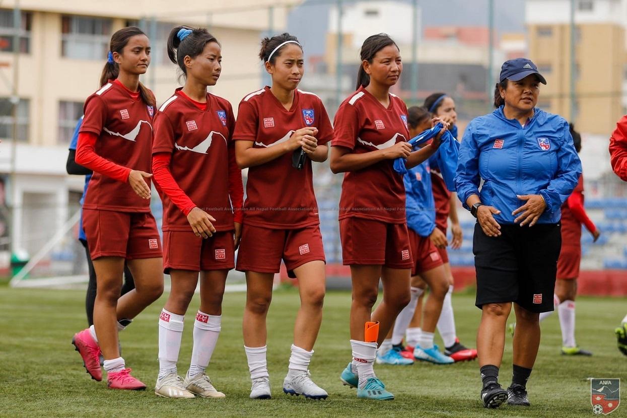 राष्ट्रिय महिला फुटबल टिमले बंगलादेशसँग काठमाडाैँमा दुई मैत्रीपूर्ण खेल खेल्ने