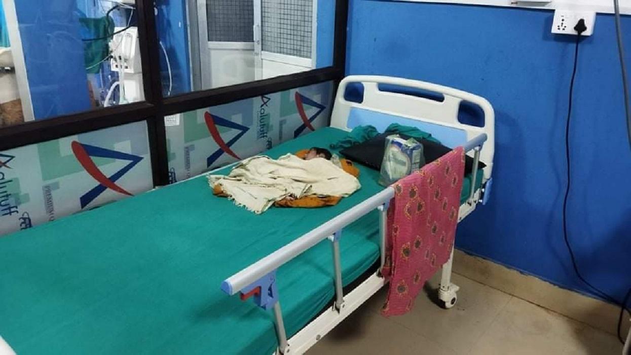 राम जानकी अस्पतालद्वारा दलित बच्चाको निःशुल्क उपचार