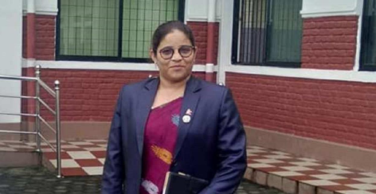 नेकपा (एस) सुदूरपश्चिमको प्रमुख सचेतकमा दुर्गा विक