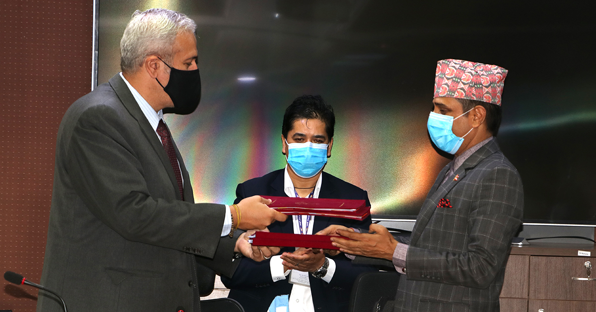 नेपाललाई विश्व बैंकले ५ अर्ब ८७ करोड ऋण दिने सम्झौता