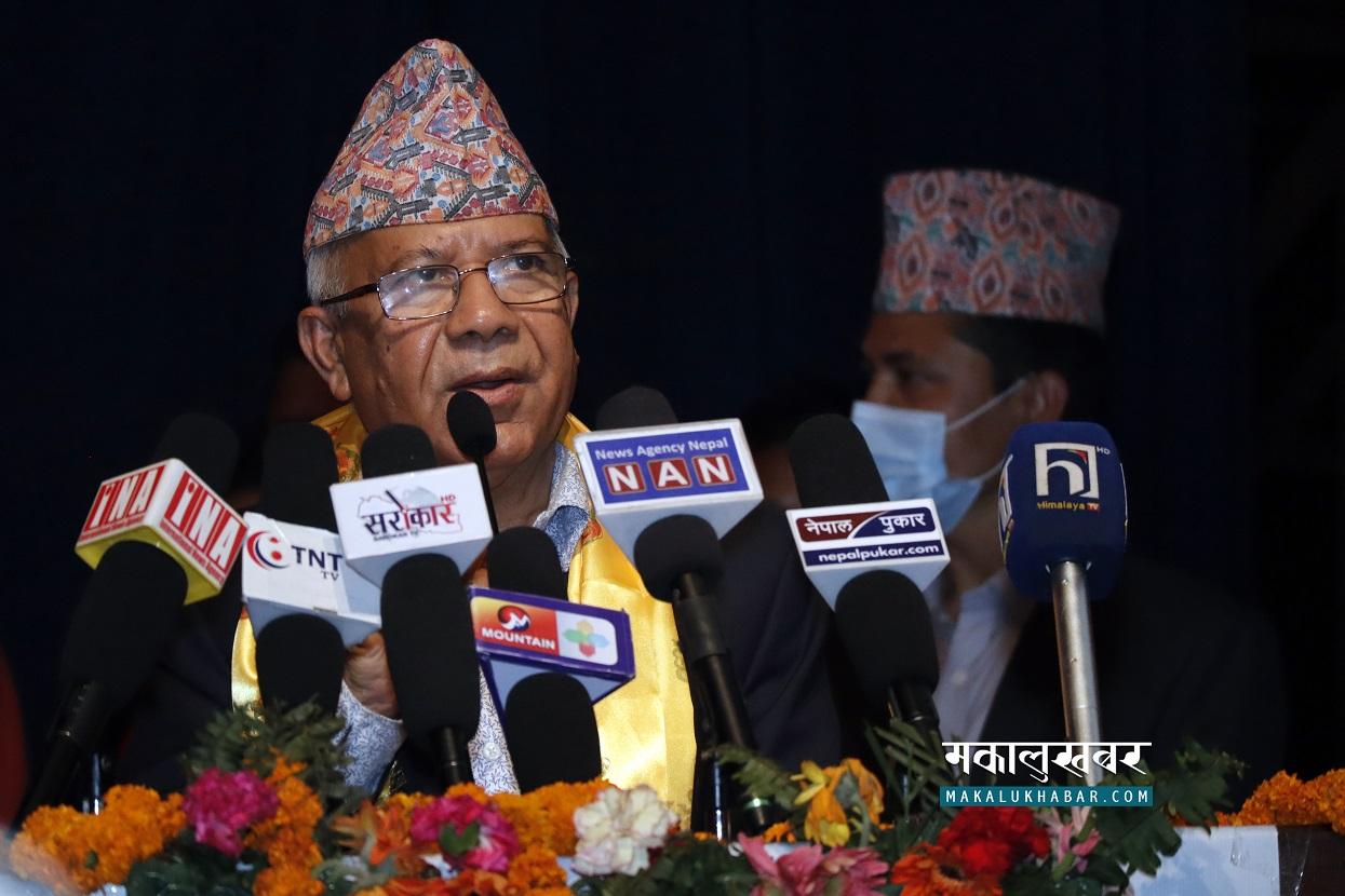 ओलीले दश बुँदेको ट्याउँ-ट्याउँ भन्न थाले, साथीहरूको हरिबिजोग भयो : माधव नेपाल