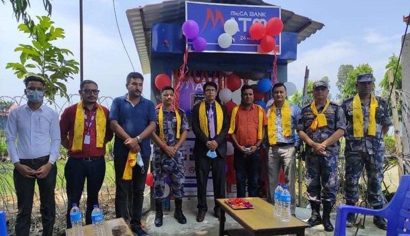 झापाको भद्रपुरमा मेगा बैंकको एटीएम सेवा