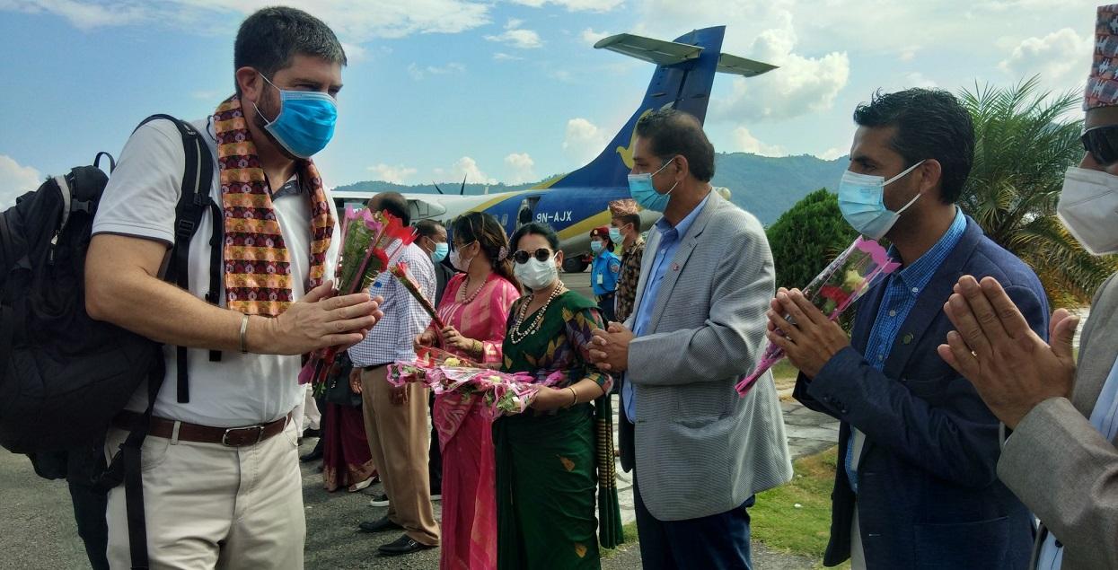 पोखरा भ्रमणमा ११ देशका राजदूत