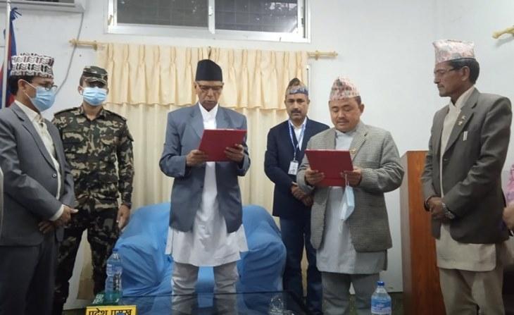 सुदूरपश्चिममा नेकपा (एस)कादुई मन्त्री नियुक्त